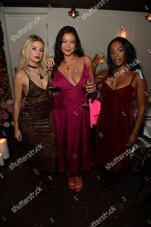 Phoebe Lettice, Naomi Shimada and Sharmadean Reid