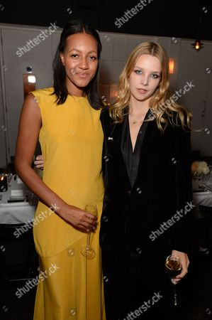 Stock Picture of Alice Casely-Hayford and Greta Bellamacina