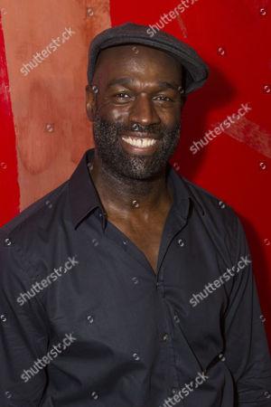 Stock Picture of Steve Toussaint (Hero)