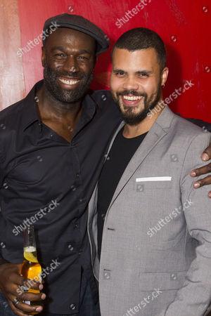 Steve Toussaint (Hero) and Howard Charles