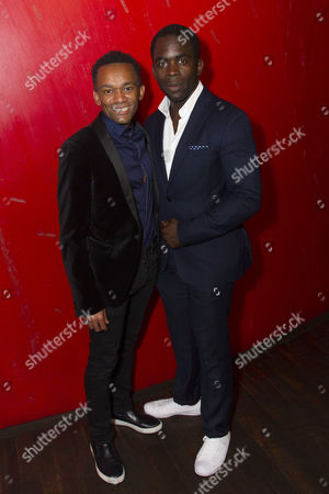 Jason Pennycooke (Second/Second Runaway) and Jimmy Akingbola (Homer)