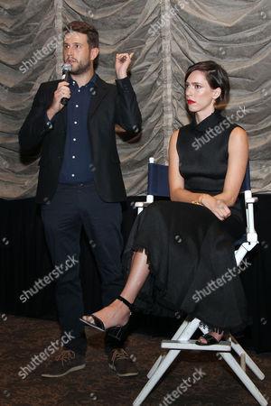 Craig Shilowich (Screenwriter) and Rebecca Hall