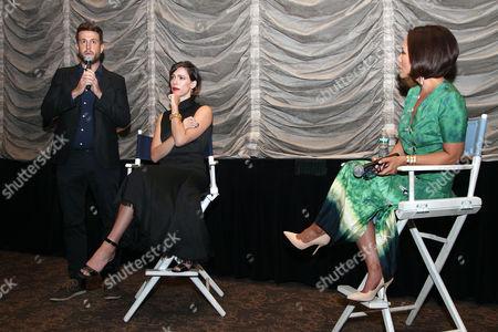 Craig Shilowich (Screenwriter), Rebecca Hall and Alina Cho