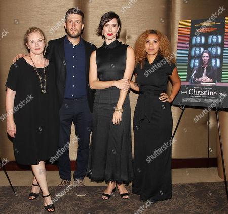 J. Smith-Cameron, Craig Shilowich, Rebecca Hall and Melody C. Roscher