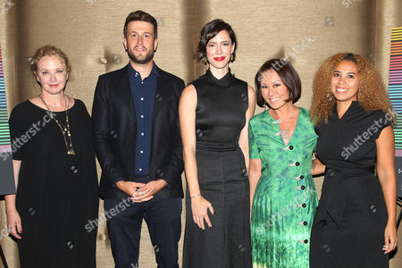 """Editorial image of Alina Cho Hosts a Special Screening of The Orchard's """"CHRISTINE"""" and Q&A with Rebecca Hall, New York, USA - 22 Sep 2016"""