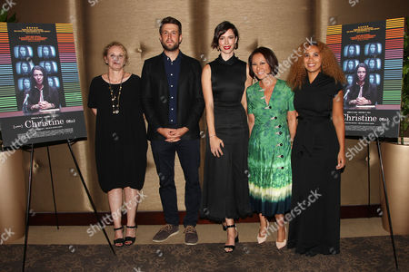 """Editorial photo of Alina Cho Hosts a Special Screening of The Orchard's """"CHRISTINE"""" and Q&A with Rebecca Hall, New York, USA - 22 Sep 2016"""