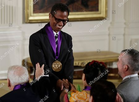 Editorial picture of National Medal of Arts and National Humanities Medal Cermony, Washington DC, USA - 22 Sep 2016