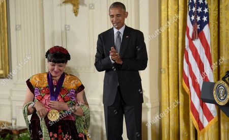 Editorial photo of National Medal of Arts and National Humanities Medal Cermony, Washington DC, USA - 22 Sep 2016
