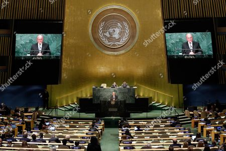 Tammam Salam Lebanon's President of the Council of Ministers Tammam Salam addresses the 71st session of the United Nations General Assembly, at U.N. headquarters