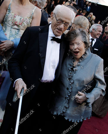 Eli Wallach Eli Wallch and guest arrive before the 83rd Academy Awards, in the Hollywood section of Los Angeles