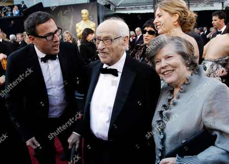 Eli Wallach Eli Wallach and guest arrive before the 83rd Academy Awards, in the Hollywood section of Los Angeles