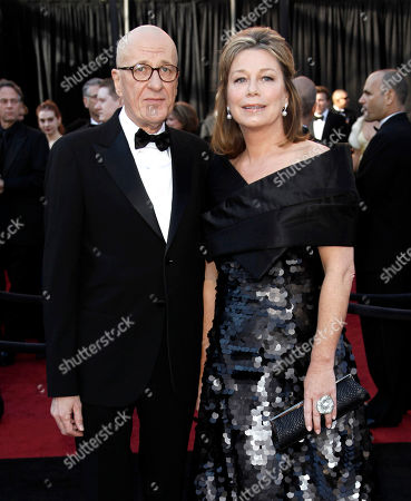 Geoffrey Rush, Jane Menelaus Actor Geoffrey Rush, left, and his wife Jane Menelaus arrive before the 83rd Academy Awards, in the Hollywood section of Los Angeles