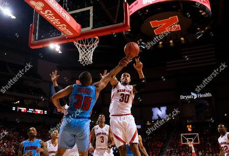 Editorial picture of Delaware St Nebraska Basketball, Lincoln, USA
