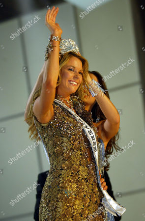 Editorial photo of ECUADOR MISS UNIVERSE, QUITO, Ecuador