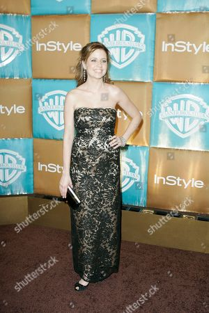 Jenna Fisher Jenna Fisher arrives for the In Style and Warner Bros. party following the 64th Annual Golden Globe Awards, in Beverly Hills, Calif
