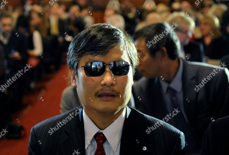 Chen Guangcheng Chen Guangcheng, the recipient of the 2012 Lantos Human Rights Prize, waits for the beginning of a ceremony for former Secretary of State Hillary Rodham Clinton where she received the 2013 Lantos Human Rights Prize on Capitol Hill in Washington, . Chen Guangcheng is an activist who fled house arrest in China and later moved to the U.S