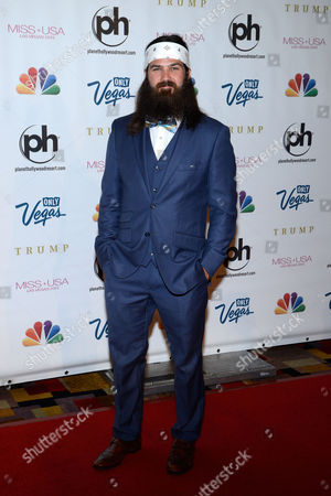 Miss USA 2013 From left, television personality Jep Robertson of 'Duck Dynasty' arrives at the Miss USA 2013 pageant, in Las Vegas