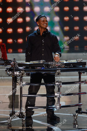Miss USA 2013 DJ Paul 'Pauly D' DelVecchio performs during the Miss USA 2013 pageant, in Las Vegas