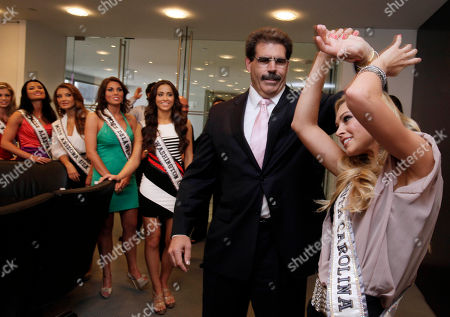 Courtney Hope Turner, Matt Calamari Miss South Carolina Courtney Hope Turner, right, demonstrates her karate black belt skills on Matt Calamari, Executive Vice President and COO of the Trump Organization, during her visit with other Miss USA contestants to Trump Tower, in New York