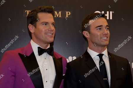 Thomas Roberts, Patrick Abner MSNBC anchor Thomas Roberts, left, and his husband Patrick Abner arrive for the final of the 2013 Miss Universe pageant in Moscow, Russia, on