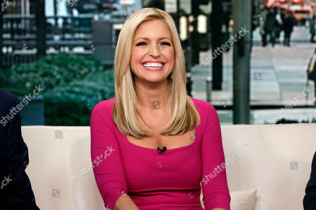"Ainsley Earhardt Fox News host Ainsley Earhardt makes her debut as co-host of the network's morning show ""Fox & Friends"" television program, in New York, . Earhardt replaces Elisabeth Hasselbeck on the""curvy couch"" with Steve Doocy and Brian Kilmeade"