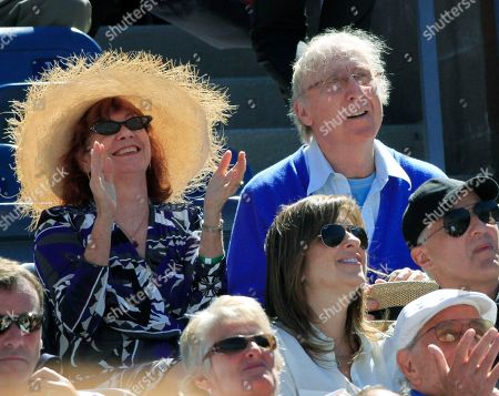 Gene Wilder Gene Wilder, right, and a unidentified friend watch a men's semifinal match between Rafael Nadal, of Spain, and Mikhail Youzhny, of Russia, at the U.S. Open tennis tournament in New York
