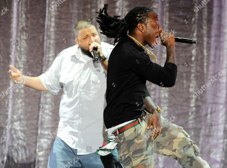 Ace Hood, DJ Khaled Ace Hood, right, performs with DJ Khaled during the 11th Annual BMI Urban Awards, in Los Angeles. The show honored the songwriters and publishers of the most performed urban songs on U.S. radio and television in the past 12 months