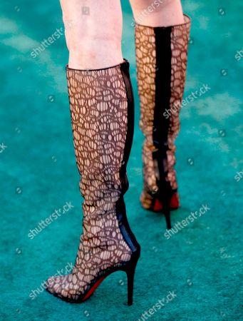 Actress Dana Delaney arrives at the 20th Anniversary Environmental Media Awards at the Paramount lot, in Los Angeles