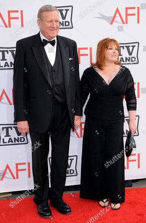 Ken Howard, Linda Fetters Actor Ken Howard and Linda Fetters arrive at the AFI Lifetime Achievement Awards honoring Mike Nichols, presented by TV Land at Sony Pictures Studios on in Culver City, Calif