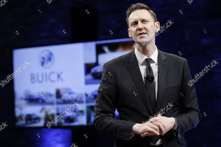 Duncan Aldred Buick Global Vice President Duncan Aldred speaks during a media preview for the 2017 Buick Encore in New York, as part of the New York International Auto Show