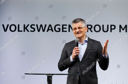 Michael Horn Michael Horn, President and CEO of Volkswagen Group of America, speaks in Detroit