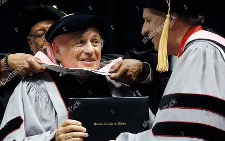 Editorial image of Berklee Commencement, Boston, USA