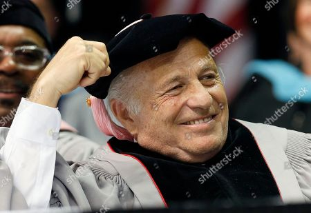 Doug Morris CEO of Sony Music Entertainment Doug Morris listens during Berklee College of Music commencement ceremonies, in Boston. Morris received an honorary doctor of music degree from the college