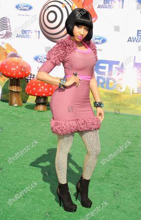 Nicky Minaj Nicky Minaj arrives at the BET Awards, in Los Angeles