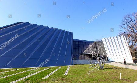 Editorial image of Broad Art Museum, East Lansing, USA