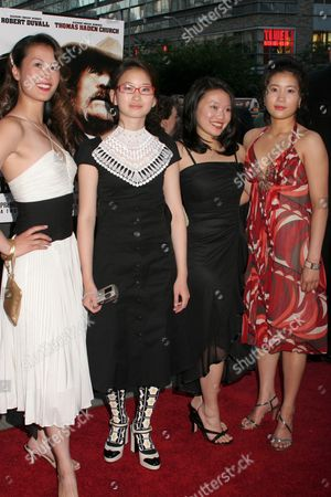 Olivia Cheng, Valerie Tian, Caroline Chan, Jadyn Wong