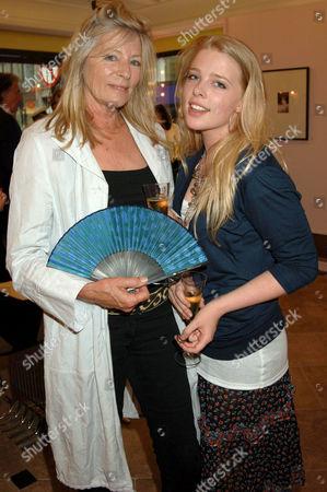 Jill Kennington and daughter