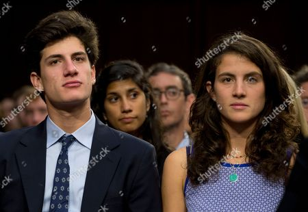 Stock Picture of John Bouvier Kennedy Schlossberg, Tatiana Celia Kennedy Schlossberg John Bouvier Kennedy Schlossberg, left, and Tatiana Celia Kennedy Schlossberg, the children of Caroline Kennedy, attend the Senate Foreign Relations Committee nomination hearing on Caroline Kennedy, of New York, to be Ambassador to Japan, on Capitol Hill, in Washington. Former first daughter Caroline Kennedy she would be humbled to carry forward her father's legacy if confirmed by the Senate to be the next U.S. ambassador to Japan