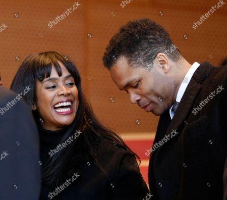 Jesse Jackson Jr., Sandi Jackson U.S. Rep. Jesse Jackson Jr. right and his wife Chicago Alderman Sandi Jackson during inaugural ceremonies for Chicago Mayor-elect Rahm Emanuel in Chicago