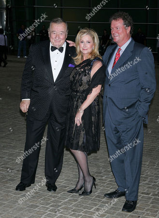 Sirio Maccioni with Kathy and Rick Hilton