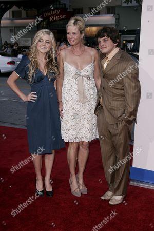 Stock Image of Lorraine Nicholson, Rebecca Broussard and Raymond Nicholson