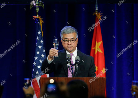 Gary Locke Former United States ambassador to China and former Washington Gov. Gary Locke raises a toast to Chinese President Xi Jinping, at a banquet in Seattle. Xi was in Seattle on his way to Washington for a White House state dinner on Friday