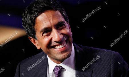 Sanjay Gupta Dr. Sanjay Gupta, Chief Medical Correspondent for CNN, attends the Clinton Global Initiative, in New York