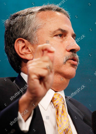 Thomas Friedman Thomas Friedman, New York Times columnist, speaks during the Clinton Global Initiative, in New York