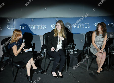 Chelsea Clinton, Debbie Sterling, Kari Byron Clinton Foundation Vice Chair Chelsea Clinton, center, hosts an event titled From STEM to Success: A No Ceilings Conversation, at the Colorado Museum of Nature and Science, in Denver, . The event, part of Clinton Global Initiative America, which is being held in Denver this week, also featured Debbie Sterling, right, the CEO of toy company GoldieBlox, and was moderated by Kari Byron, left, co-host of Discovery Channel's Mythbusters