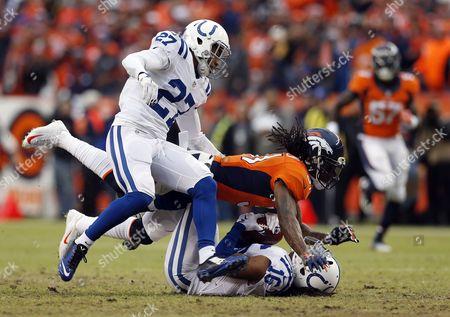 Editorial photo of Colts Broncos Football, Denver, USA