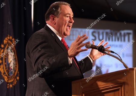 Mike Huckabee Former Arkansas Gov. and Republican presidential candidate Mike Huckabee speaks at a GOP Freedom Summit, in Manchester, N.H. Several potential Republican White House contenders _ among them Kentucky Sen. Rand Paul, Cruz, and former Arkansas Gov. Mike Huckabee _ headline a conference Saturday in New Hampshire, hosted by the conservative groups Citizens United and Americans for Prosperity