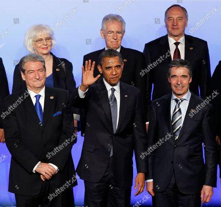 Editorial picture of CORRECTION Obama NATO Summit, Chicago, USA
