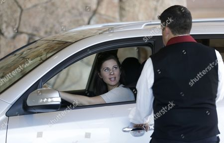 Erin Burnett Erin Burnett, anchor for CNN, arrives at the Allen & Company Sun Valley Conference in Sun Valley, Idaho