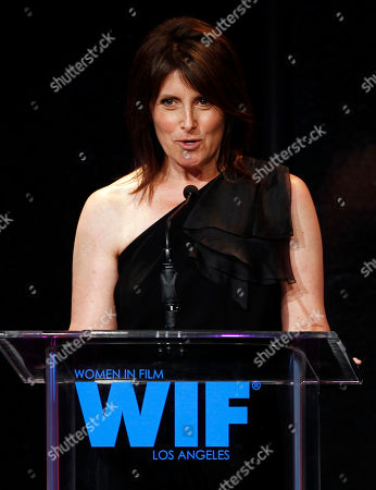 Pamela Fryman Director Pamela Fryman accepts the Dorothy Arzner Directors award at the 2011 Crystal and Lucy Awards in Beverly Hills, Calif., . The Crystal and Lucy awards is a gala fundraising dinner in support of Women in Film, Los Angeles